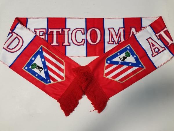 Флисовый шарф футбольного клуба Атлетико Мадрид