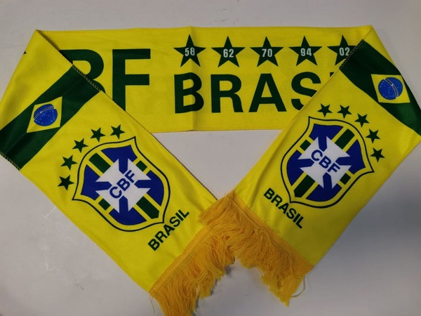 Флисовый шарф сборной Бразилии