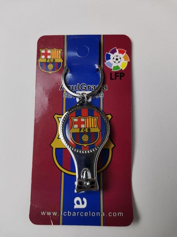 Брелок-кусачки с эмблемой Барселона