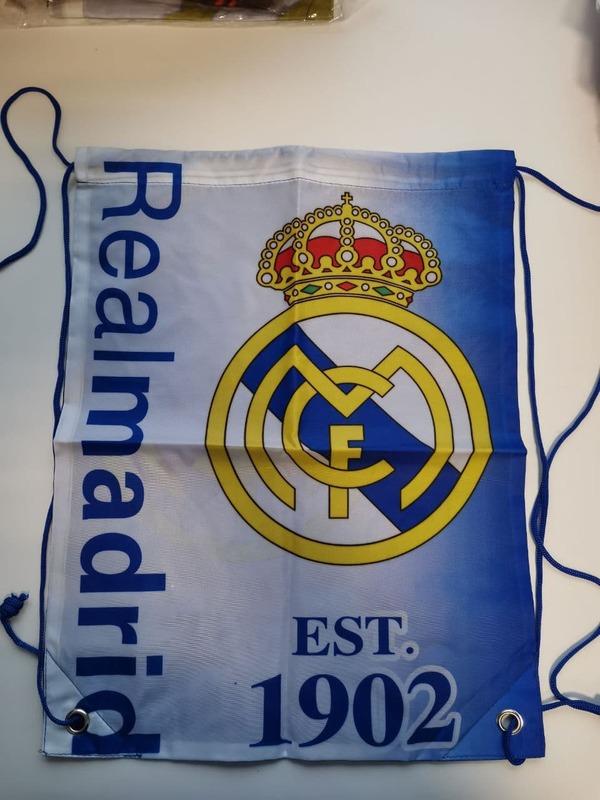 Реал Мадрид мешок для обуви