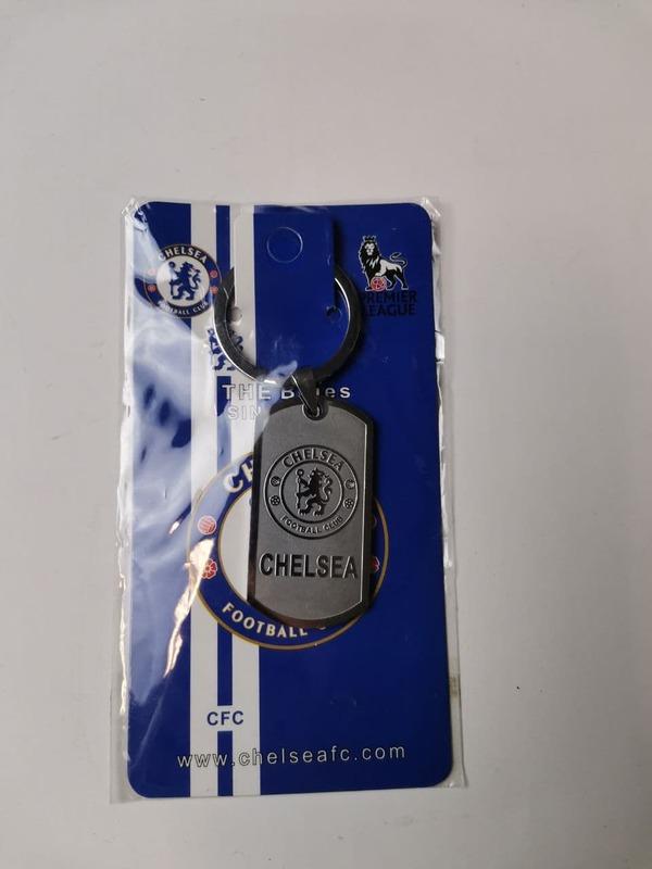 Металлический брелок с эмблемой Челси