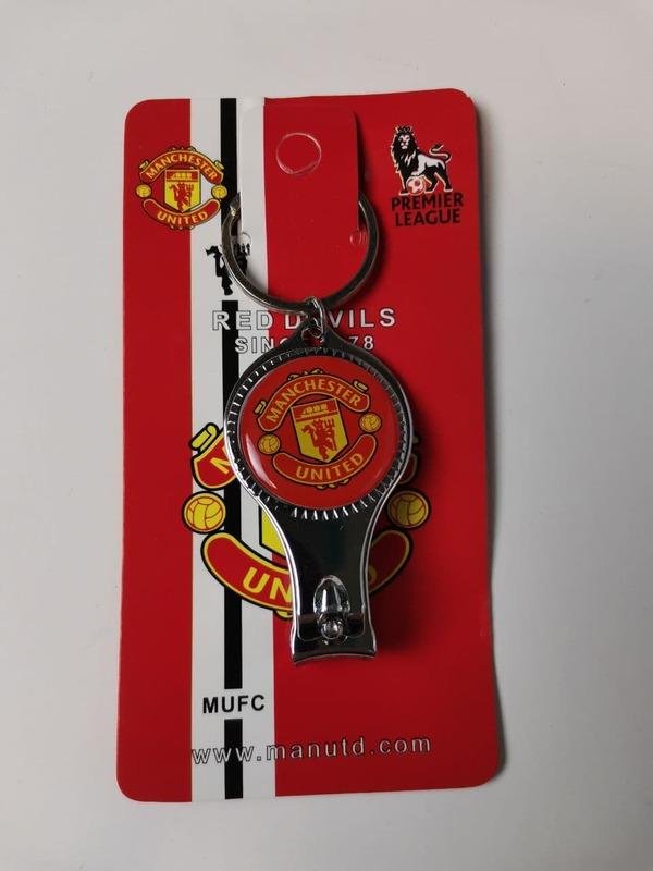 Брелок-кусачки с эмблемой Манчестер Юнайтед