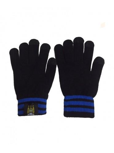 Теплые перчатки с эмблемой Манчестер Сити