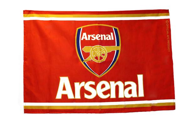 Клубный флаг ФК Арсенал