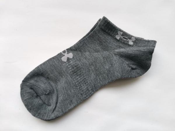 Носки under armour короткие темно-серого цвета