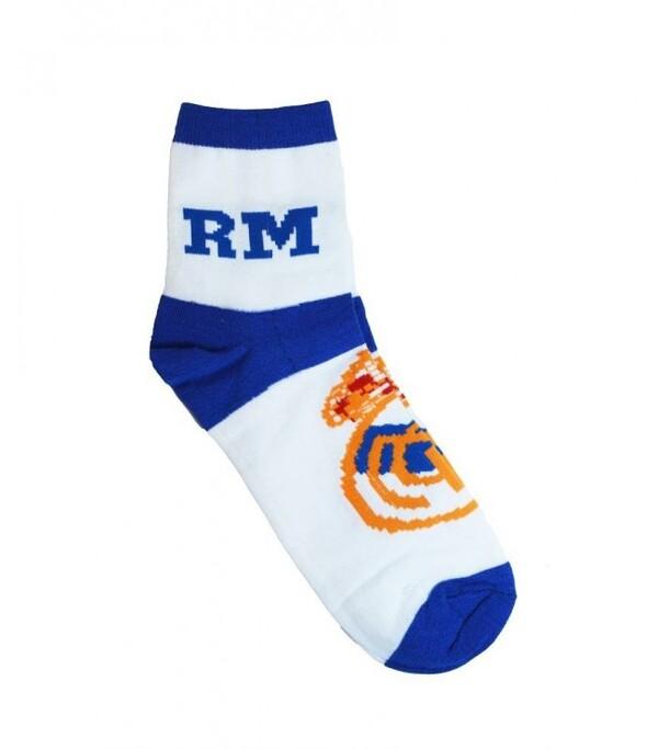 Носки Реал Мадрид бело-синие